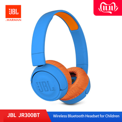 JBL JR300BT Childrens Headphones Headset Wireless Bluetooth Kids Learning Headset Low Decibel Auriculares Bass Mic Earphones