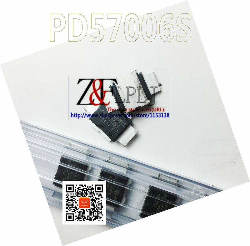PD57006S  PD 57006S  PD57006S E$M  straight lead(PIN) RF POWER TRANSISTORS  New Original  5PCS/LOT-in Integrated Circuits from Electronic Components & Supplies