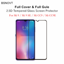2pcs Full Cover & Glue Screen Protector For Xiaomi Mi 9 Mi9 Glass Coverage Tempered SE Film