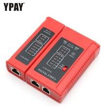 Ypay rede rj45 testador ferramenta fio rj11 rj12 linha telefone 8p8c 6p4c rg45 rg rj 45 internet 8p ethernet cabo lan serial teste