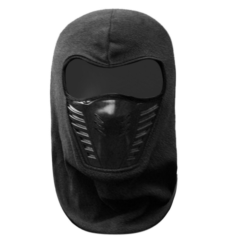 Outdoor PM2.5 Dust Mask N95 Hat Riding Thickened Fleece Hat Face Protection Riding FFP3 Masks Warm Windshield KN95 Winter Hood 4