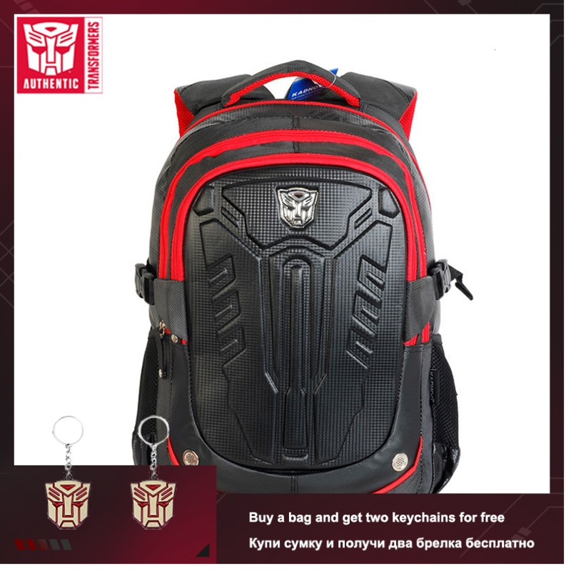 TRANSFORMERS 2019 New Cartoon Image Children Student Bag Primary School Bag Polyester Waterproof With Reflective Tape Schoolbag