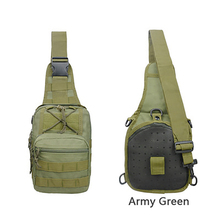 Fashion Outdoor Sports Diagonal Bag Men Riding Chest Camouflage Military Tactical Shoulder
