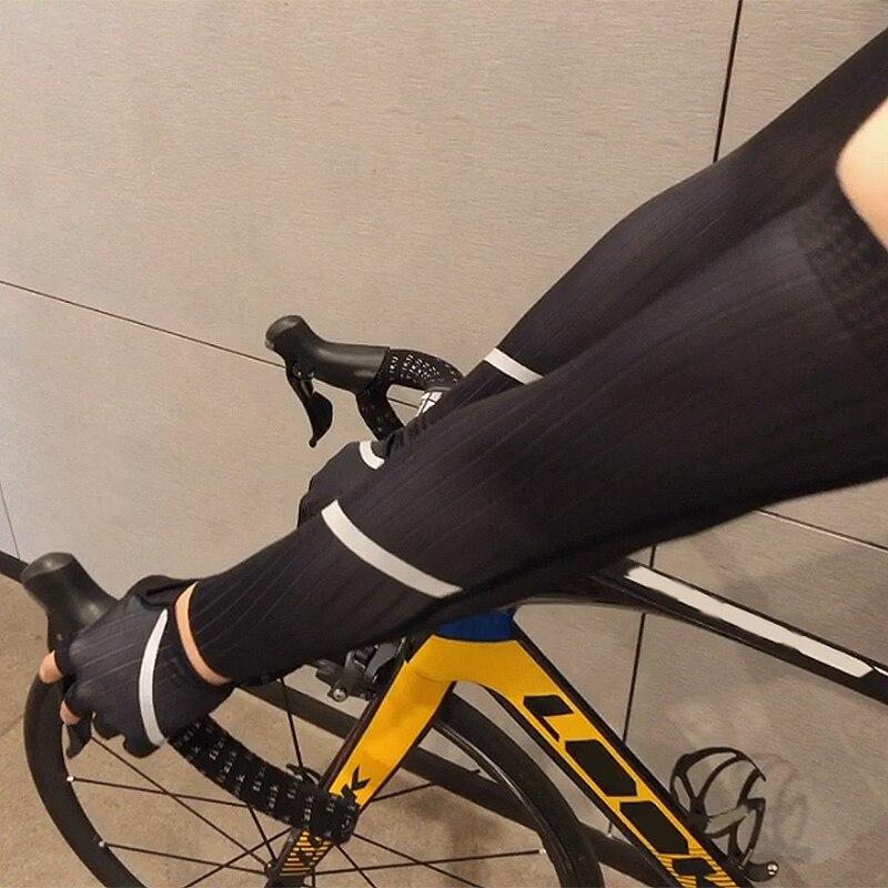 meias homens mulher bicicleta braço mais quente