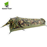GeerTop BivyII Ultralight One Person 3 Season Camping Tent with Mosquito Net Waterproof Easy Set Up Hiking Tents Tourist Awning