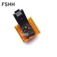 FSHH QFN20 test socket WSON20 UDFN20 MLF20 ic socket Pin pitch=0.65mm Size=5x5mm