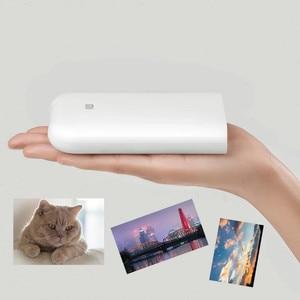 Image 5 - Xiaomi mijia AR yazıcı 300dpi taşınabilir fotoğraf Mini cep DIY payı 500mAh resim yazıcı cep yazıcı çalışması ile mijia