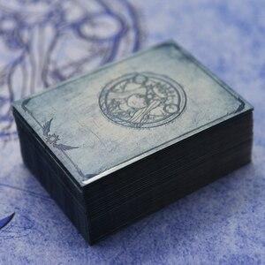 Image 5 - 100 أجزاء/وحدة 66x91 مللي متر آلهة أوراكل فيبي إريس بطاقة الأكمام لوحة لعبة بطاقات واقية الدروع ل MGT PKM التجمع السحري