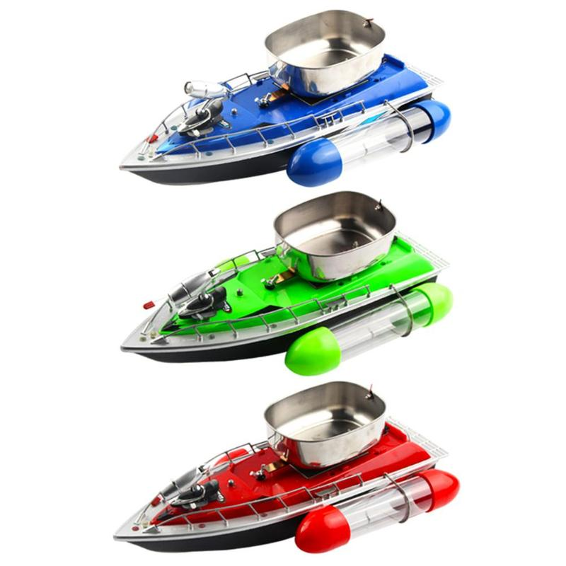 RC Fishing Adventure Lure Bait Boat Intelligent Wireless Electric Fast Fish Finder Battery Mini RC Fishing Bait Boat