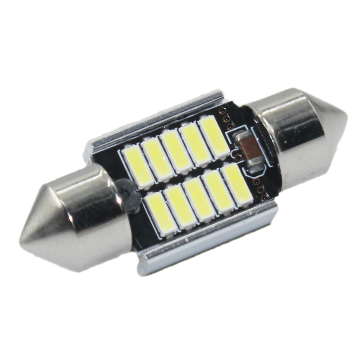 2pcs High Quality 31mm 36mm 39mm <font><b>42mm</b></font> 5730 SMD <font><b>LED</b></font> CANBUS Car White Light Auto Interior Dome Lamps Reading <font><b>Bulb</b></font> Warm White image