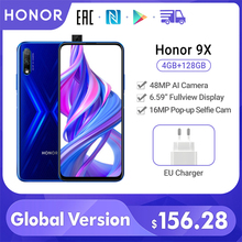 Special Version Honor 9X Smartphone 4G 128G 48MP Dual Cam 6.