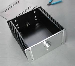 Image 2 - 2412B מלא אלומיניום מארז מגבר כוח כיתת מקרה AMP מארז אודיו תיבה