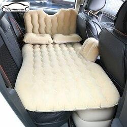 Bymaocar سيارة سرير قابل للنفخ متعدد الوظائف سرير سفر 900*1350 (مم) سيارة فراش بك يتدفقون سرير على شكل سيارة اكسسوارات السيارات