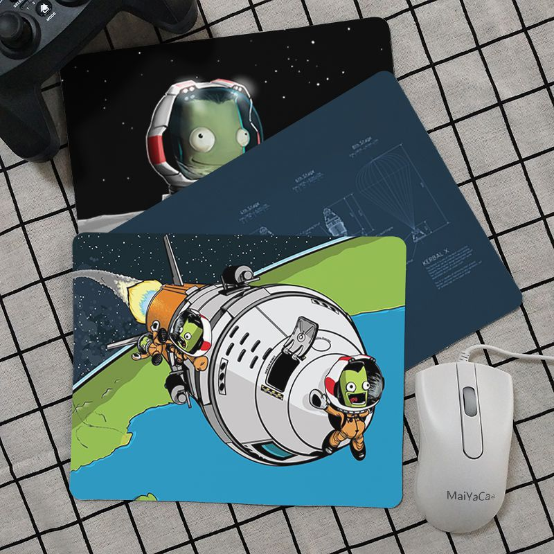Maiya Top Quality Kerbal Space Program Silicone Pad to Mouse Game Top Selling Wholesale Gaming Pad mouse image