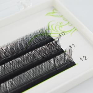Image 2 - FunMix Y شكل C حليقة اليد المنسوجة رموش منك صناعي على الطريقة اليابانية شبكة تحيط جلدة الطبيعية لينة عالية الجودة