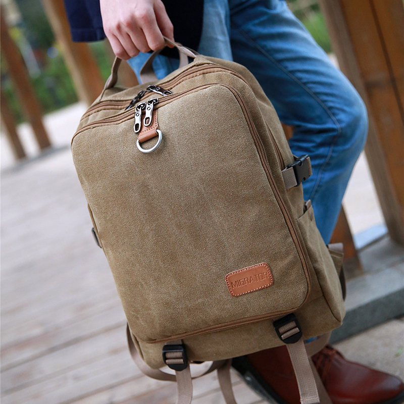 Casual Oxford Business Men's Laptop Backpack  2