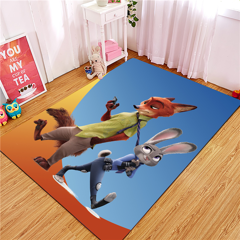 Cartoon Indoor Doormat Scrape Wear Resistant And Dust Proof Non Slip Door Mat Carpet For Kitchen Floor Bathroom