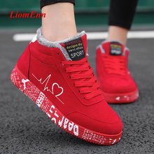 Women Shoes Winter Sneakers Snow-Ankle-Boots Canvas Sport Running Big-Size Femme Casual