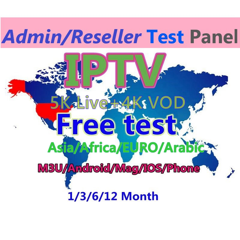 Asia Malaysia Thailand 1/3/6/12 Months Iptv Spainish Albania 5200+ Live Sports Channels Adult X X X Iptv Subscription
