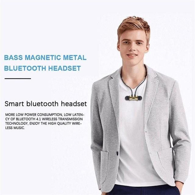Magnetic Wireless bluetooth Earphone XT11 music headset Phone Neckband sport Earbuds Earphone with Mic For iPhone Samsung Xiaomi 6