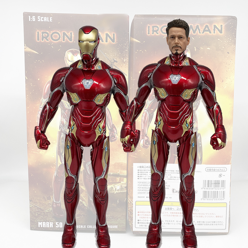 Crazy Iron Man Mark MK50 1/6th Scale Collectible Figure Model Toy Gifts Stage Marvel Avengers Infinity War Iron Man Tony Stark