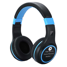 HIFI Stereo Earphones Bluetooth Wireless Headphone Music Headset mic for xiaomi iphone sumsamg Folding Stretch Stereo Headphone цена