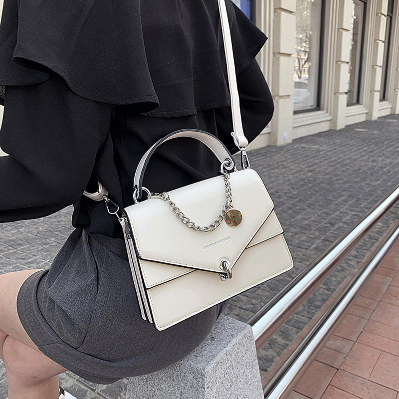 Girls Small Square Bag 2020 New Chain Handbag Women Casual Wild Shoulder Lock Tide Bag Diagonal Female Bag