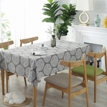 Vintage paisley print cotton linen fabric table cloth table cloth refrigerator cover