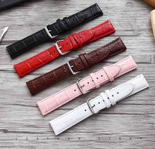 General Purpose Watch Strap band Genuine Leather strap Bamboo 12mm 14mm 16mm 18mm 20mm 22mm 24mm