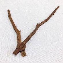 Твердые деревянные DIY настенные часы руки части классические в форме дерева с ветвями стрелка часов инструмент для ремонта домашнего декора сменные инструменты 14 дюймов