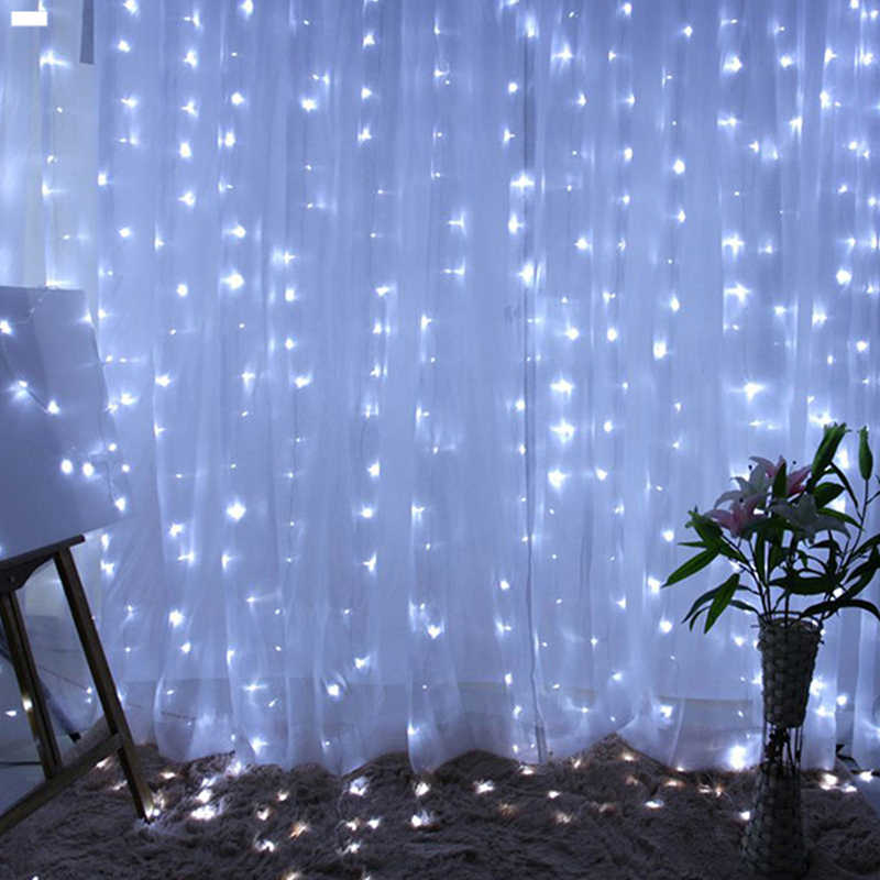 Wedding Light String Curtain Lamp Flexible LED Remote Control Waterproof New Arrival LED String