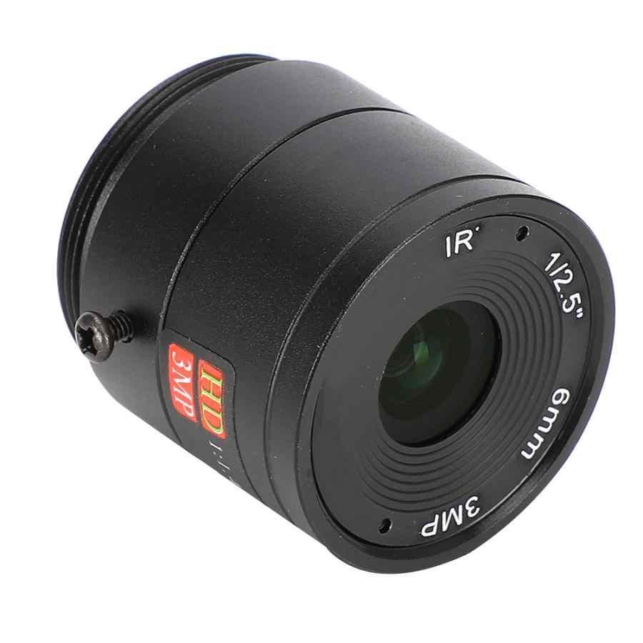 6mm 3MP HD F1.4 1/2. 5 CS montaje CCTV lente para cámara