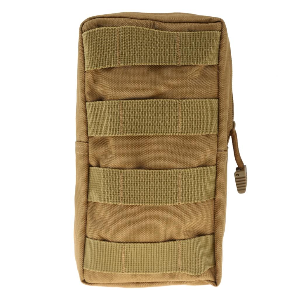600D Nylon MOLLE Modular Utility Pouch Backpack Hanging Waist Bag Multi-Purpose Tool Bag Holder For Vest Or Belt