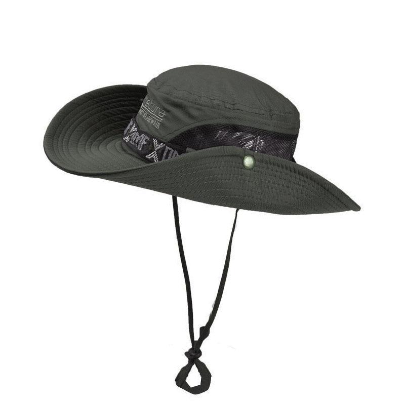 Summer Outdoor Fishing UV Visor Ladies Breathable Sun Visor Hat Men's Travel Portable Fisherman Hat