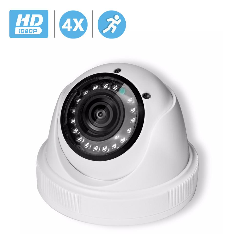 BESDER 4X Manual Varifocal Lens 2.8mm-12mm 720P 960P 1080P Security CCTV IP Camera Indoor Camera DC 12V 48V POE Optional