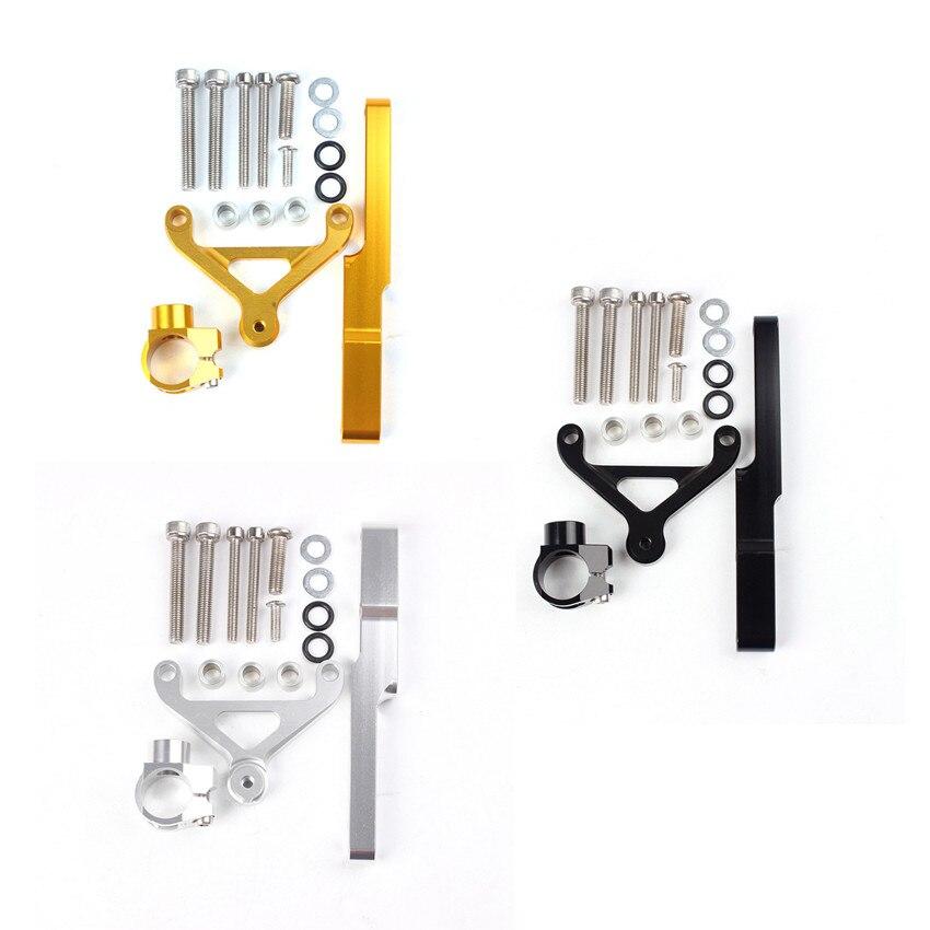 CNC stabilisateur damortisseur de direction support Kit de montage pour Honda CB1000 2008-2014 2009 2010 2011 2012 2013