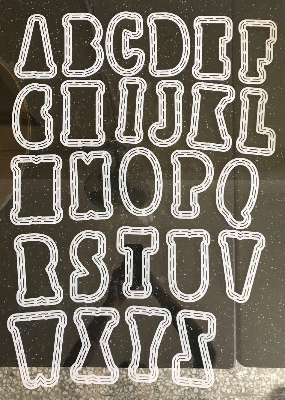 Large A-Z Alphabets 10cm Big Metal Cutting Dies&13cm Plastic Stencil for DIY Scrapbooking Crafts Paper Card Mkaing New 2019 Dies