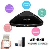 Broadlink RM PRO + RM33 Universal Inteligente Controle Remoto WiFi + IR + RF do Interruptor do Temporizador De Controle Aplicativo Compatível com alexa