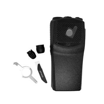 Replacement Front Case Knobs Repair Housing Cover Shell for Motorola EP450 Walkie Talkie Two Way Radio