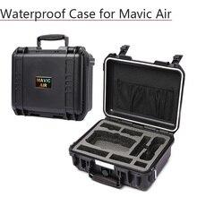 Коробка для хранения костюм чехол водонепроницаемый чехол для переноски Hardshell сумка для DJI Mavic Air батарея контроллер линии передачи данных Дрон аксессуары