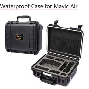 Image 1 - Schowek walizka wodoodporny futerał Hardshell torba dla DJI Mavic Air sterownik baterii linia danych akcesoria do dronów