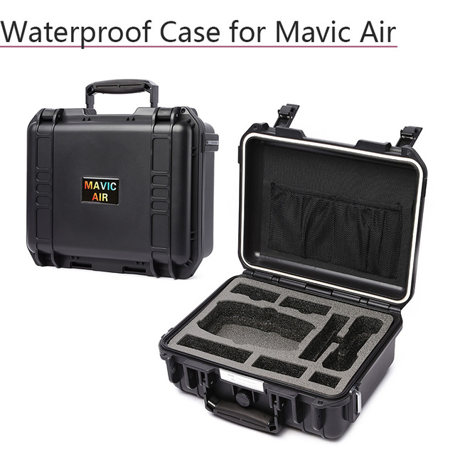 Schowek walizka wodoodporny futerał Hardshell torba dla DJI Mavic Air sterownik baterii linia danych akcesoria do dronów