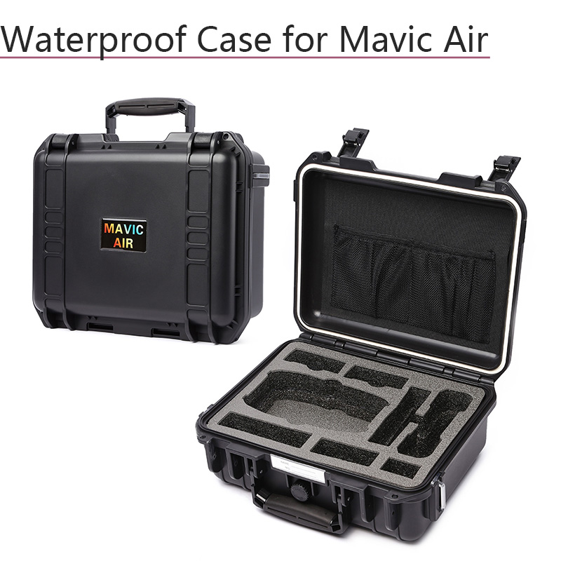 Storage Box Suitcase Waterproof Carrying Case Hardshell Bag for DJI Mavic Air Battery Controller Data Line Drone Accessories