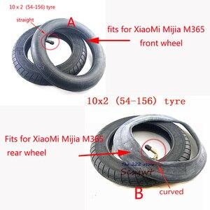 Image 2 - アップグレード 10 インチ電動スクーター外側のインナーチューブ xiaomi mijia M365 フロントモーターホイールタイヤ & インフレリアタイヤホイール