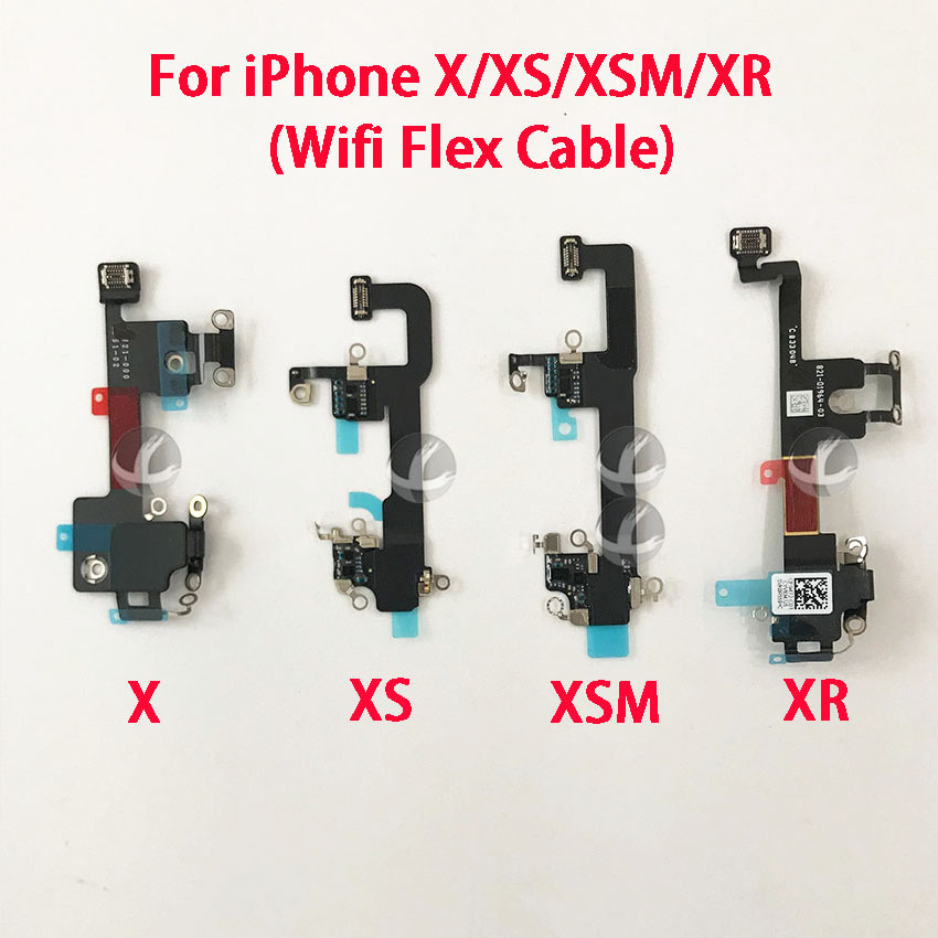 Galleria fotografica Original New Wifi Flex Cable For iPhone X XS XR XSM Max Wifi Signal Antenna Replacement Parts