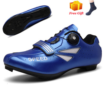 Professional Athletic Bicycle Shoes MTB Cycling Shoes Men Self-Locking Road Bike Shoes sapatilha ciclismo Women Cycling Sneakers 24
