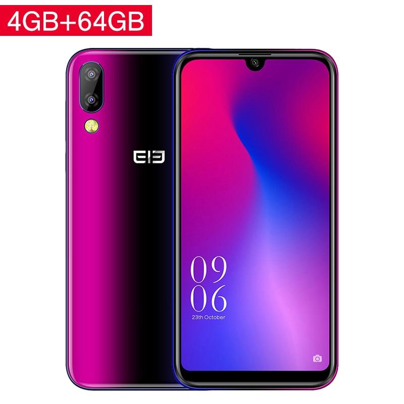Elephone A6 Mini 4GB 32GB 5.71 Inch waterdrop Screen Mobile Phone Android 9.0 MT6761 Quad Core HD+ 16MP 3180mah 4G Smartphone