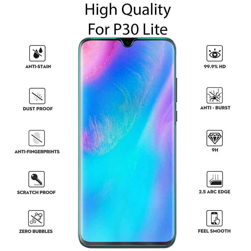 Dustproof אביזרי מלא כיסוי זכוכית מחוסמת טלפון מסך מגן קל להתקין קשיות Ultra דק עבור Huawei P20 P30