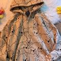 В Корейском стиле, куртка с длинными рукавами толстовка на молнии с капюшоном Теплый Бархатный пуловер в винтажном стиле свитер для женщин ...