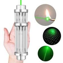 Alta potência ponteiro de visão laser 5mw 532nm verde vermelho dot laser caneta de luz poderoso dispositivo laser caneta laser